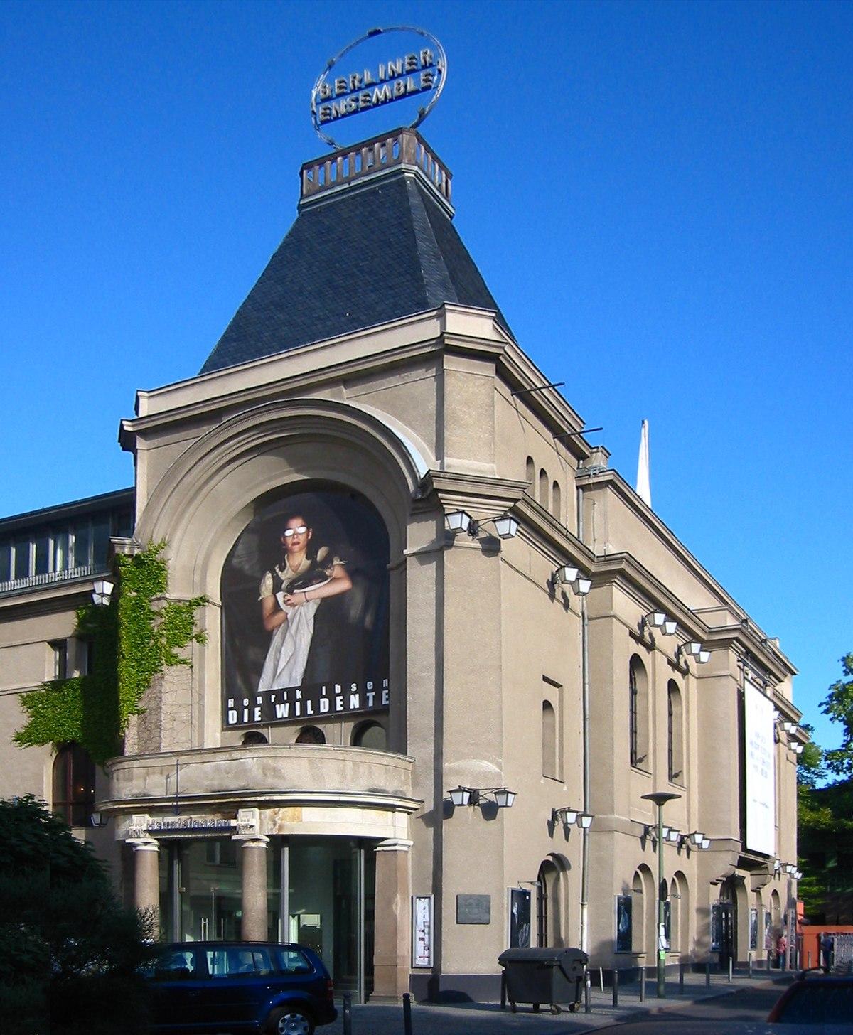 Theater Am Schiffbauerdamm Wikimedia Commons