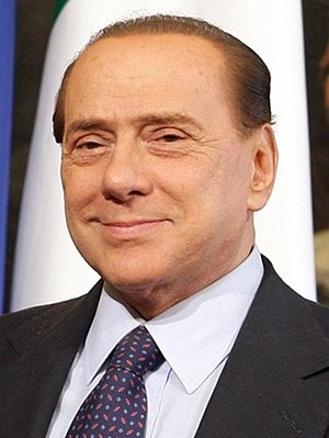 European Parliament election, 2014 (Italy) - Image: Berlusconi 2010 1