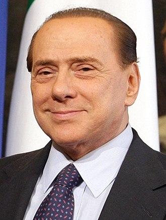 2013 Italian general election - Image: Berlusconi 2010 1