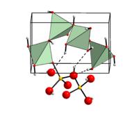 Kristallstruktur von β-Be(OH)2