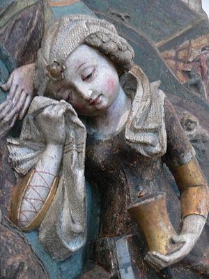 de: Beweinung des Leichnams Christi, Erfurt, u...