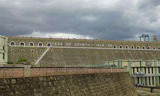 Bhavanisagar dam - under the rain clouds
