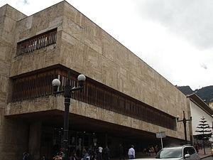 Luis Ángel Arango Library - Image: Biblioteca Luis Ángel Arango (Bogotá) 01