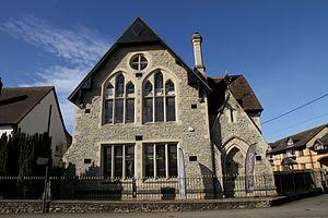Edward George Bruton - St Edburg's Hall, London Road, Bicester, built in 1882