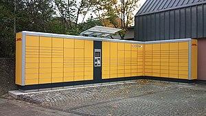 Deutsch: DHL Packstation der etwas groesseren ...