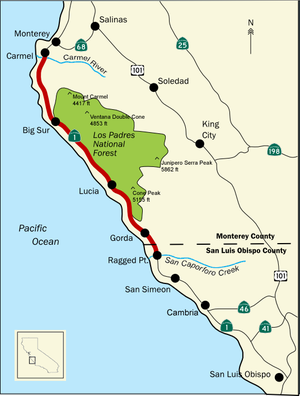 San Carpóforo Canyon - Big Sur