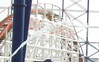 Big Dipper (Blackpool Pleasure Beach) - Image: Big Dipper