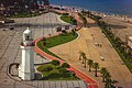 Bike path and lighthouse. Batumi.jpg