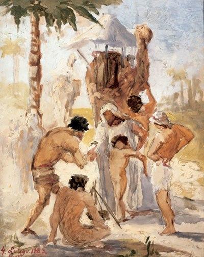 Bilińska Joseph sold by his brothers