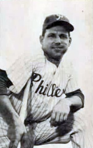 Philadelphia Phillies all-time roster (N–O) - Image: Bill Nicholson