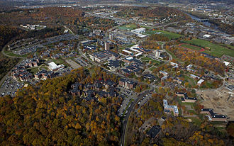 Binghamton University - The Binghamton campus and surroundings