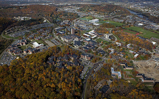 Binghamton University Aerial Photo