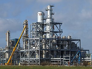 English: Bio Ethanol on the Way A plant for ma...