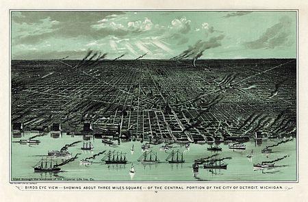 Detroit in 1889