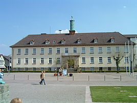 Town hall of Bad Lippspringe