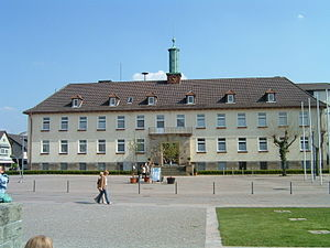 Bad Lippspringe - Town hall of Bad Lippspringe