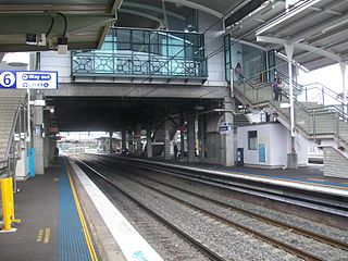 Blacktown railway station railway station in Sydney, New South Wales, Australia