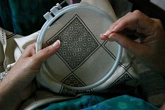 Blackwork - Ancient designs in modern blackwork