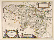 Blaeu - Atlas of Scotland 1654 - RENFROANA - Renfrew