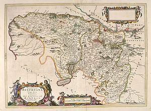 Renfrewshire (historic) - Extent of Renfrewshire in 1654