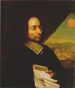 Blaise Pascal - Retrato por anónimo do Século XVII