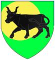 Blason Lézignan vache noire.PNG
