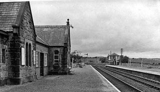 Blencow railway station Former railway station in Cumberland, England