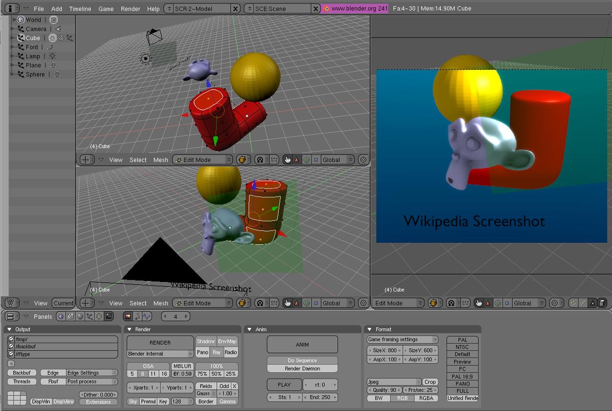 Software de gráficos 3D - Wikipedia, la enciclopedia libre - photo#3