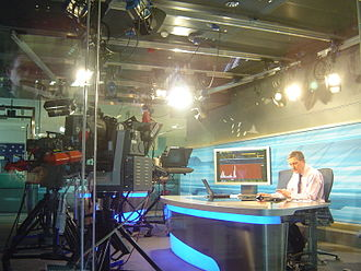 Bloomberg Television - Bloomberg Europe studio