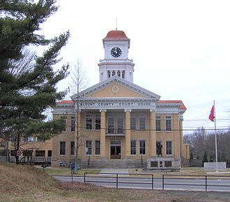 Blount County, Tennessee - Image: Blount county tennessee courthouse 1