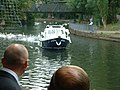 Boat on the River Lea arriving at the Priory with the bride for a wedding - geograph.org.uk - 123143.jpg