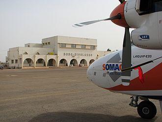 Bobo-Dioulasso - The Bobo Dioulasso Airport.