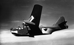 Boeing XPBB-1 in flight c1943.JPG