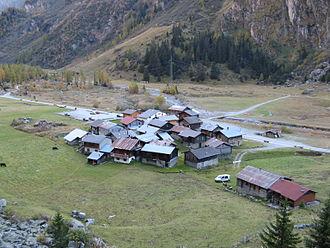 Bagnes - Bonatchiesse village