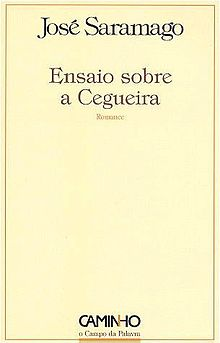 Blindness Novel  Wikipedia Book Cover Of Ensaio Sobre A Cegueirajpg