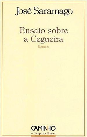Blindness (novel) - 1st edition Cover (Portuguese)