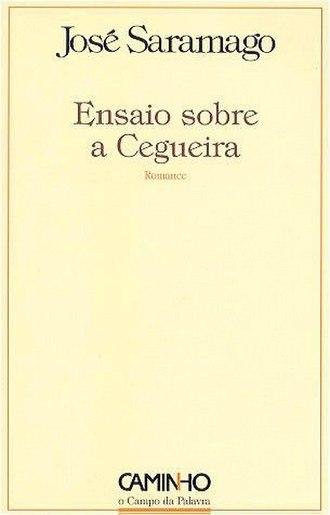 Blindness (novel) - 1st edition Cover (Portuguese)