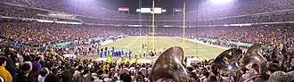 Border War (Kansas–Missouri rivalry) - The 2007 Border War game between Missouri and Kansas at Arrowhead Stadium