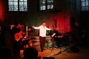Jean-Claude Borelly - Jean Claude Borelly concert in a church