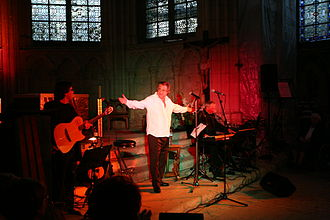 Jean-Claude Borelly - Jean Claude Borelly concert in a church