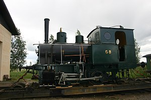 0-4-0 - Finnish Class Vk4 locomotive no. 68