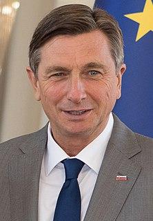 Borut Pahor Slovenian politician