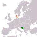 Bosnia and Herzegovina Denmark Locator.png