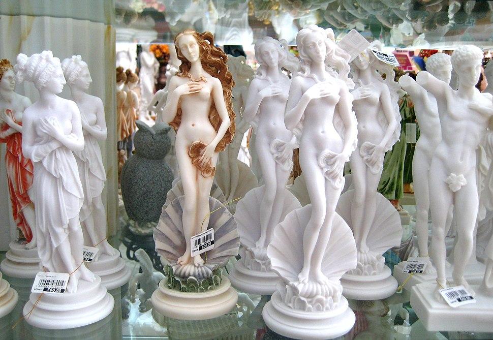 Botticelli's Birth of Venus souvenirs