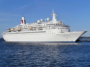 Boudicca departing Tallinn 7th September 2013.JPG