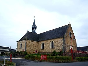 Bourgbarré - The church of Bourgbarré