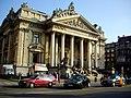Bourse de Bruxelles ブリュッセル証券取引所 - panoramio.jpg