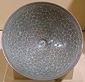 Bowl with arabesque and chrysanthemum design, Korea, Goryeo dynasty, late 1100s to 1200s AD, stoneware, celadon glaze - Jordan Schnitzer Museum of Art, University of Oregon - Eugene, Oregon - DSC09479.jpg