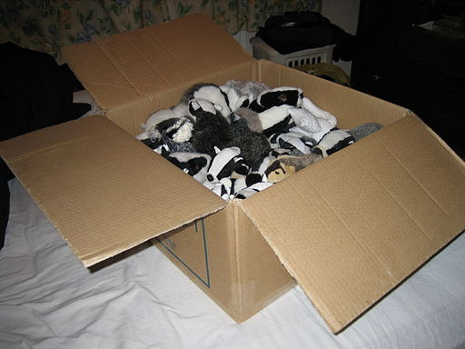 Box of badgers
