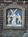 Boxmeer - Rooms Katholieke begraafplaats aan de Begijnestraat - Kruiswegstatie - Statie 5.jpg
